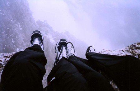 Ай-Петри зимой. Рискованный спуск — фото 1