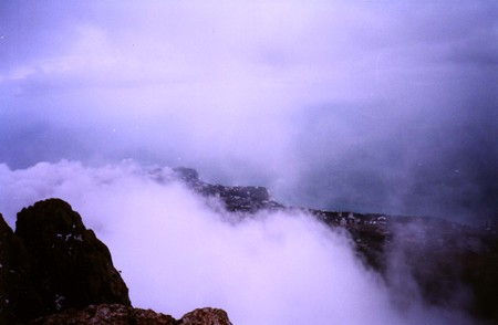 Ай-Петри зимой. Рискованный спуск — фото 6