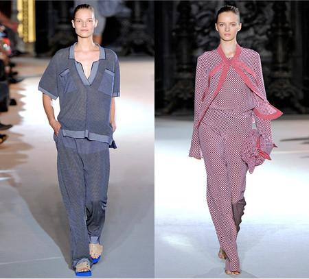 Пижамный стиль в коллекции Stella McCartney