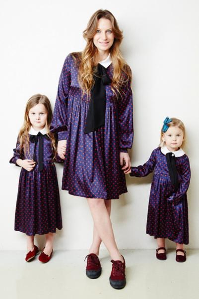 Тренд: одинаковый наряд у мамы и дочки — фото 4