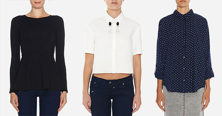 Блуза Chic, блуза блуза Ichi, Sister Jane