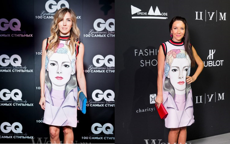 Необычные платья от Prada — фото 2
