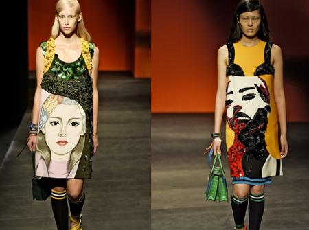 Необычные платья от Prada — фото 4