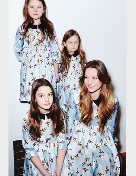 Тренд: одинаковый наряд у мамы и дочки — фото 5