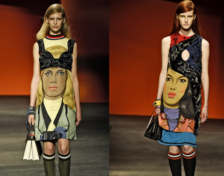 Необычные платья от Prada — фото 3