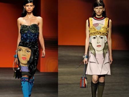 Необычные платья от Prada — фото 5