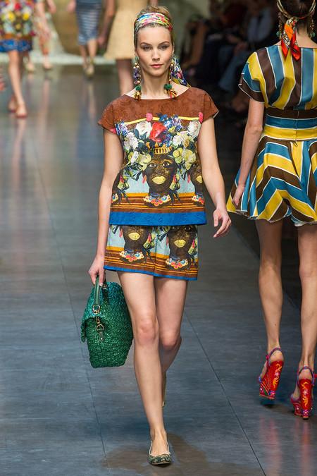 принты с мотивами известных картин на модной одежде