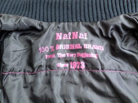 Курточка Naf Naf: уступка спортивному стилю для романтичной барышни — фото 8