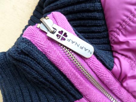 Курточка Naf Naf: уступка спортивному стилю для романтичной барышни — фото 5