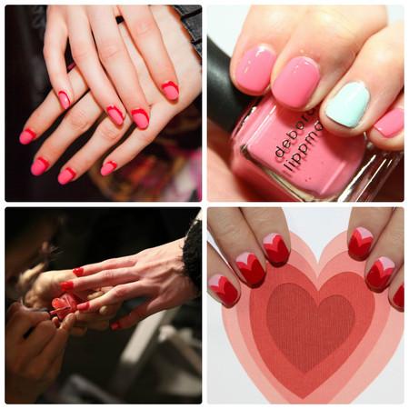 Розовый маникюр-класcика моды — фото 2