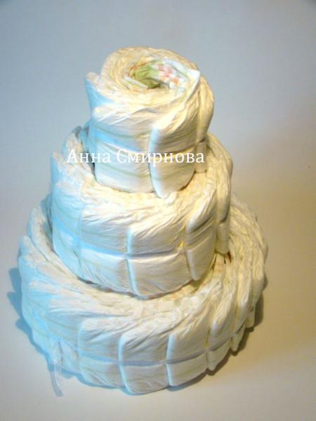 Торты из памперсов — фото 2