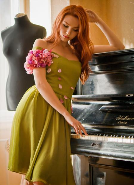 Весна - время романтики и зеленого цвета. Что же надеть? — фото 4