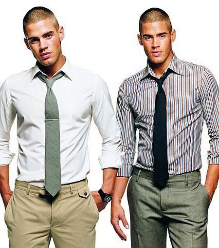 Помощь мужчинам в сочетании оттенков одежды в зависимости от типа кожи. — фото 1