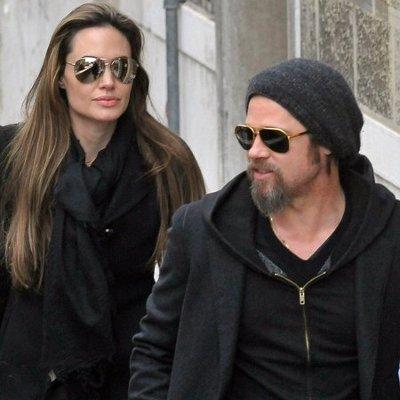 Анджелина Джоли и Бред Питт.