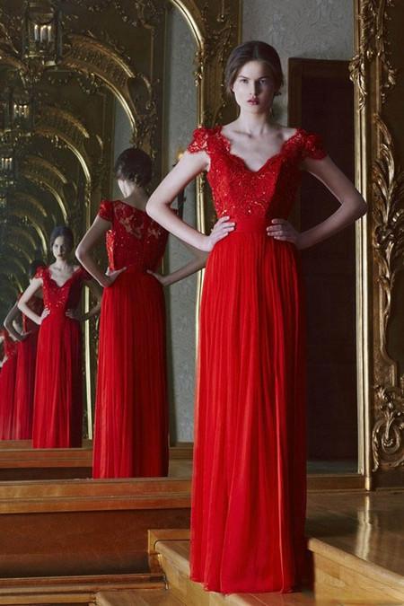 Вечерние платья Cristallini весна-лето 2014 — фото 2