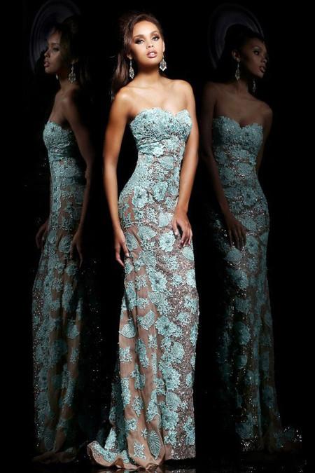 Выпускные платья весна 2014 от Sherri Hill — фото 9