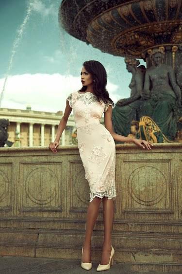 Вечерние платья Cristallini весна-лето 2014 — фото 5