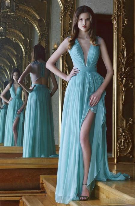 Вечерние платья Cristallini весна-лето 2014 — фото 7
