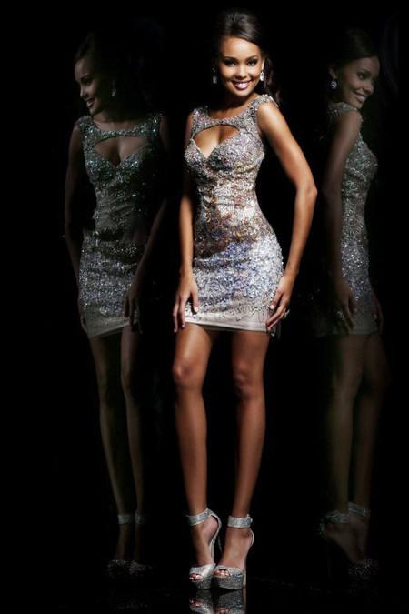 Выпускные платья весна 2014 от Sherri Hill — фото 2
