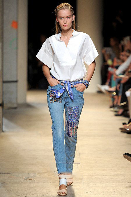 Модные джинсы весна 2014 — фото 6