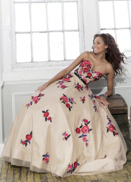 Выпускные платья весна 2014 от Sherri Hill — фото 13