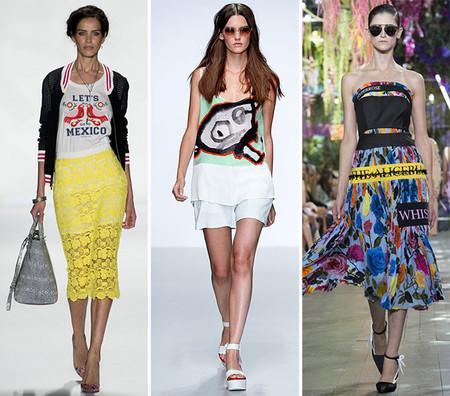 Модные принты лета 2014 — фото 3
