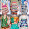 Модные принты лета 2014