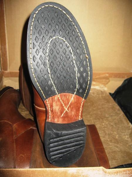 Качество выполнения каблука