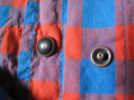 Стильные металлические кнопки