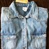 Женская джинсовая рубашка H&M