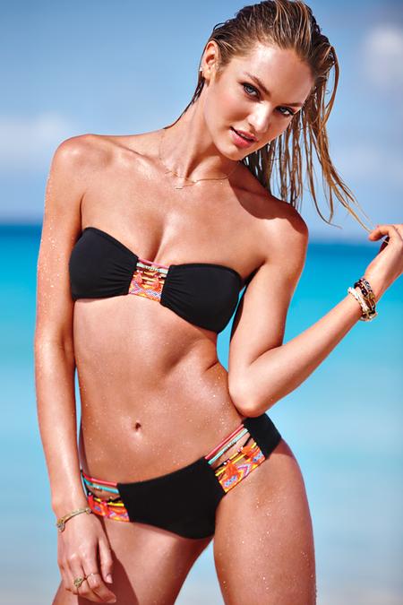 Лето 2014: сексуальные пляжные луки от Victoria's Secret — фото 6