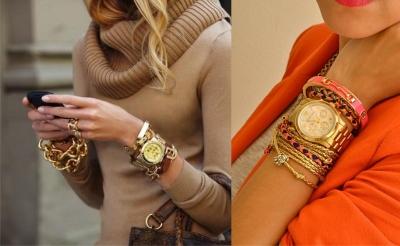 Браслет и часы