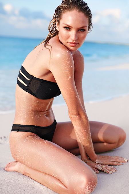Лето 2014: сексуальные пляжные луки от Victoria's Secret — фото 4