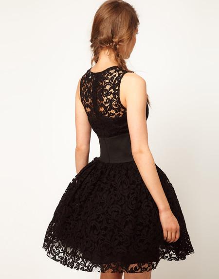 Платье с пышной юбкой для худышки