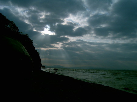 час дня начинается шторм