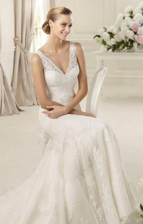 3 главных тренда в свадебной моде 2014 года. — фото 1