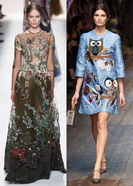 Valentino, Dolce & Gabbana
