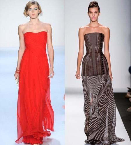 Актуальные вечерние платья для лета 2014 — фото 6