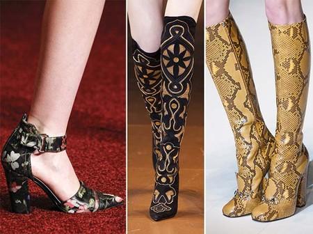 Модная обувь осенне-зимнего сезона 2014-2015 — фото 1