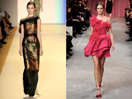 Вечерние платья сезона зима 2010/2011 — фото 1