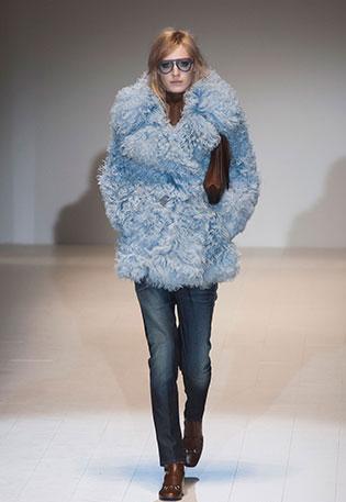 Модные шубы сезона зима 2014-2015. — фото 7