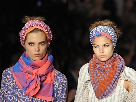 Выбираем модный шарф: как и с чем носить. — фото 3