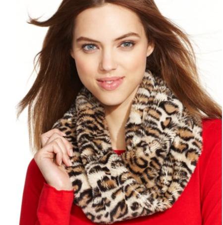 Меховой шарф - с чем сочетать? — фото 8