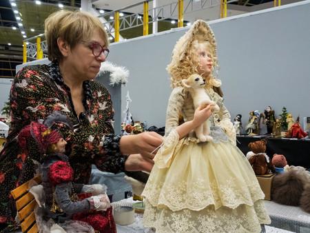 Выставки авторских кукол и дизайнерских игрушек Светланы  Пчельниковой — фото 3