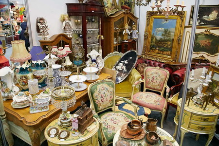 42-й сезон художественного проекта  «Блошиный рынок» на Тишинке — фото 2