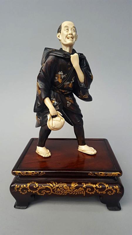 46-й художественный проект «Блошиный рынок» на Тишинке и спецпроект – «Японская скульптура окимоно» — фото 4