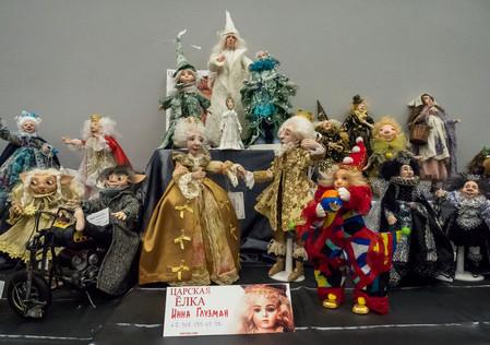 Выставки авторских кукол и дизайнерских игрушек Светланы  Пчельниковой — фото 2