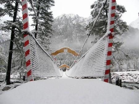 Подвесной мост через Шумак