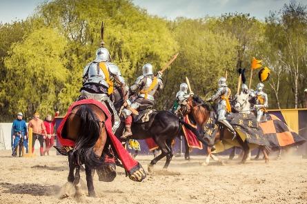 III Международный рыцарский турнир Св. Георгия в Москве становится традицией — фото 1