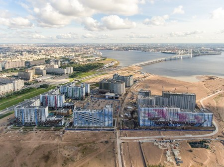 Жители намывов Петербурга хотят получить обещанные прогулочные зоны и другую инфраструктуру — фото 1
